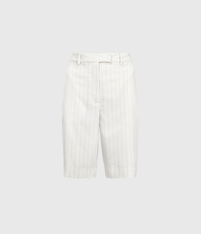 AllSaints Clea Mid-Rise Shorts