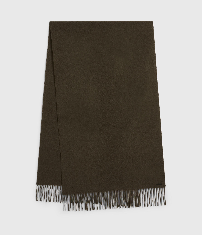 AllSaints Heavy Wool Blanket Scarf