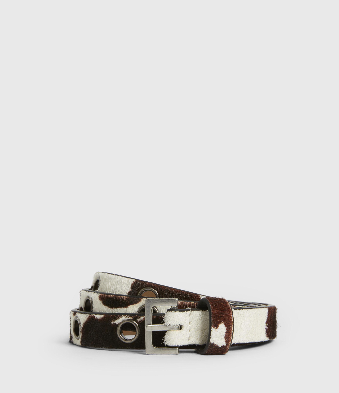 AllSaints Kristin Leather Belt