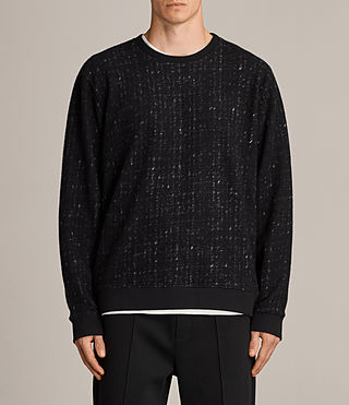 Women's Laider Crew Sweater (Black/Cement) - Image 1