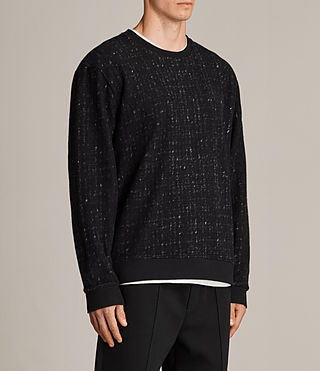 Women's Laider Crew Sweater (Black/Cement) - Image 3