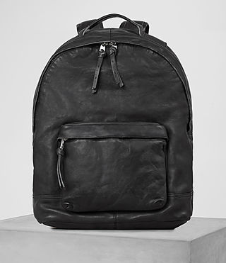 Mens Hart Rucksack (Washed Black) - product_image_alt_text_1