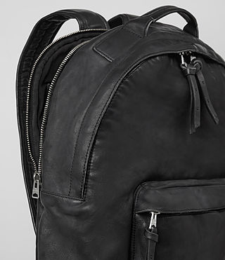 Hombres Hart Rucksack (Washed Black) - product_image_alt_text_2