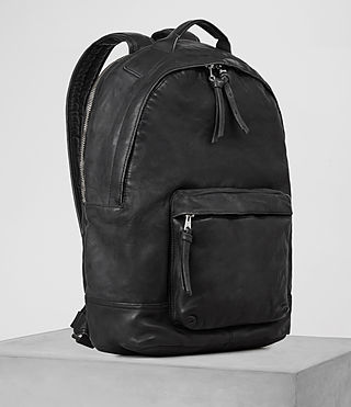 Mens Hart Rucksack (Washed Black) - product_image_alt_text_3