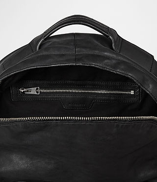 Hombres Hart Rucksack (Washed Black) - product_image_alt_text_4