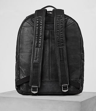 Hombres Hart Rucksack (Washed Black) - product_image_alt_text_5