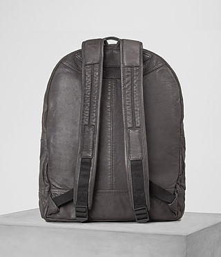 Hommes Hart Leather Rucksack (Slate Grey) - product_image_alt_text_5