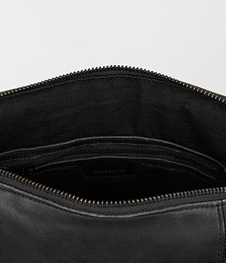Herren Meguro Leather Tote (Washed Black) - product_image_alt_text_4