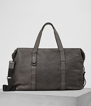 Mens Hart Leather Holdall (Bitter Brown) - product_image_alt_text_1
