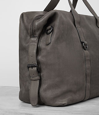 Mens Hart Leather Holdall (Bitter Brown) - product_image_alt_text_2
