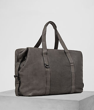 Mens Hart Leather Holdall (Bitter Brown) - product_image_alt_text_3