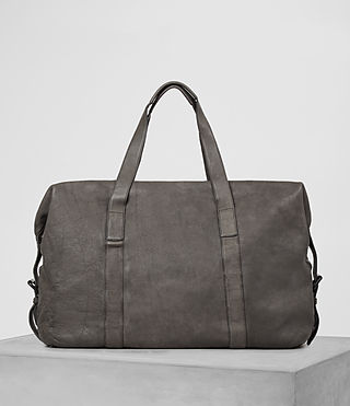 Mens Hart Leather Holdall (Bitter Brown) - product_image_alt_text_5