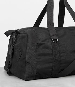 Men's Peak Holdall (Washed Black) - Image 3