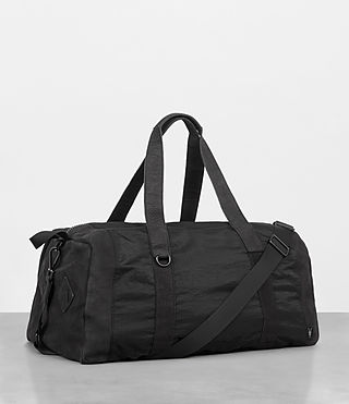 Men's Peak Holdall (Washed Black) - Image 5