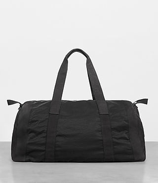 Men's Peak Holdall (Washed Black) - Image 6