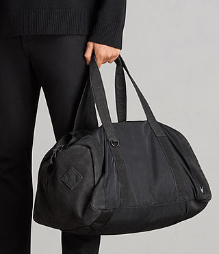 Men's Peak Holdall (Washed Black) - Image 7