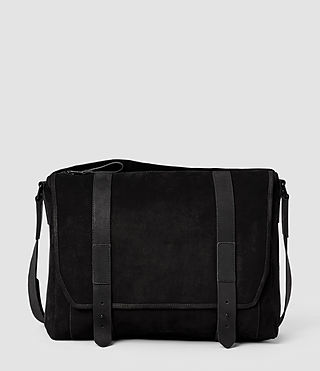 Mens Thorpe Messenger Bag (Black)