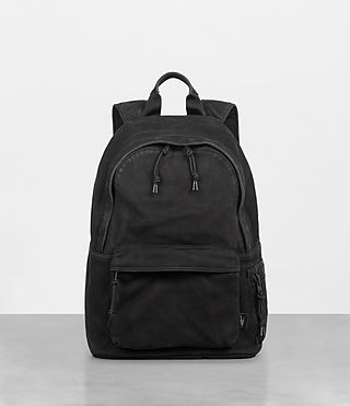 Mens Haydon Rucksack (Washed Black) - Image 1