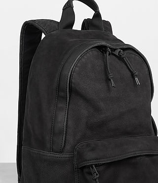 Mens Haydon Rucksack (Washed Black) - Image 3