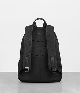 Mens Haydon Rucksack (Washed Black) - Image 7