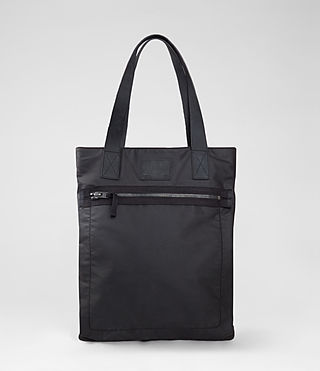 Mens Blackwater Tote (Washed Black)
