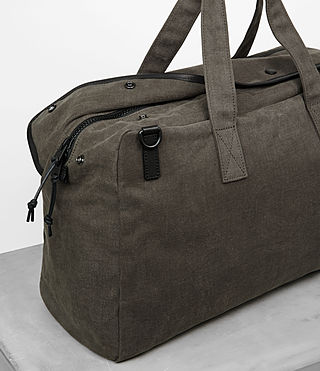 Men's Minato Holdall (Khaki Green) - product_image_alt_text_2