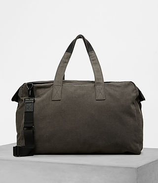 Men's Minato Holdall (Khaki Green) - product_image_alt_text_4