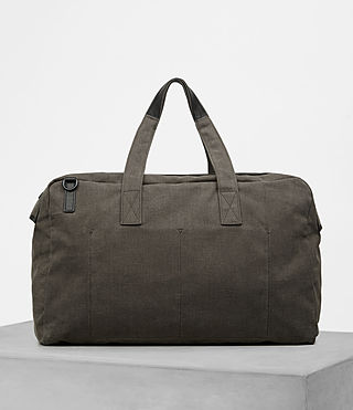 Men's Minato Holdall (Khaki Green) - product_image_alt_text_5