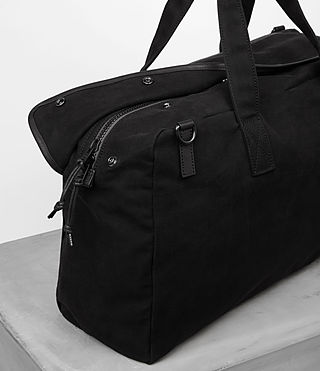 Hombres Minato Holdall (Black) - product_image_alt_text_2