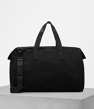 Hombres Minato Holdall (Black) - product_image_alt_text_4