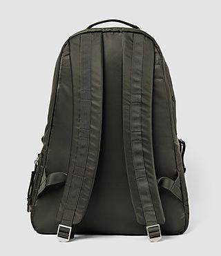 Mens Chamber Nylon Rucksack (Khaki) - product_image_alt_text_2