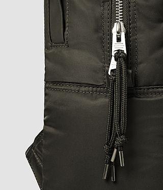 Mens Chamber Nylon Rucksack (Khaki) - product_image_alt_text_4