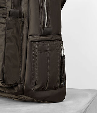 Men's Chamber Rucksack (Khaki Brown) - product_image_alt_text_2