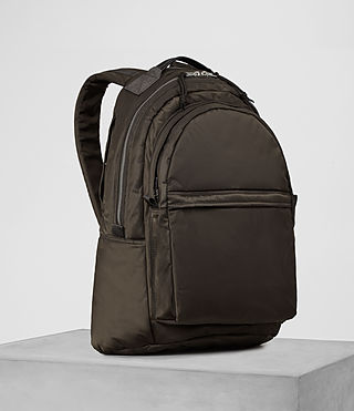 Men's Chamber Rucksack (Khaki Brown) - product_image_alt_text_3