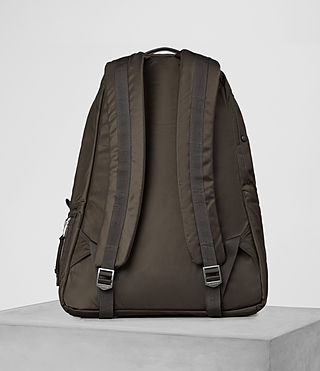Men's Chamber Rucksack (Khaki Brown) - product_image_alt_text_5