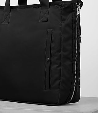 Hombre Chamber Nylon Tote Bag (Jet Black) - product_image_alt_text_2