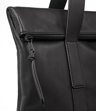 Herren Komaba Leather Tote Bag (Black) - product_image_alt_text_2
