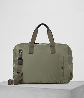 Uomo Chamber Nylon Holdall (Light Khaki)