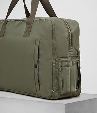 Mens Chamber Nylon Holdall (Light Khaki) - product_image_alt_text_2