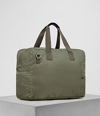 Mens Chamber Nylon Holdall (Light Khaki) - product_image_alt_text_3