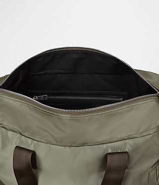 Mens Chamber Nylon Holdall (Light Khaki) - product_image_alt_text_4