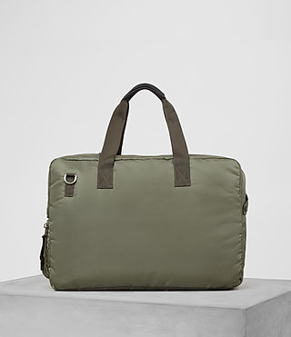 Mens Chamber Nylon Holdall (Light Khaki) - product_image_alt_text_5