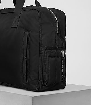 Hommes Chamber Holdall (Jet Black) - product_image_alt_text_2