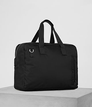Hommes Chamber Holdall (Jet Black) - product_image_alt_text_3