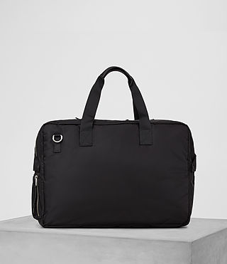 Hommes Chamber Holdall (Jet Black) - product_image_alt_text_5