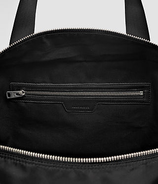 Hommes Chamber Holdall (Jet Black) - product_image_alt_text_6