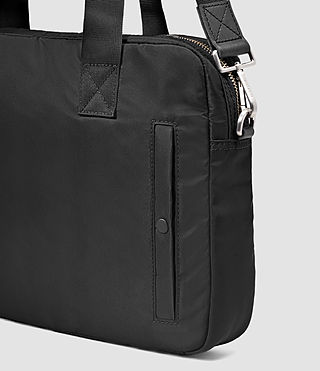 Hombres Chamber Work Bag (Jet Black) - product_image_alt_text_5