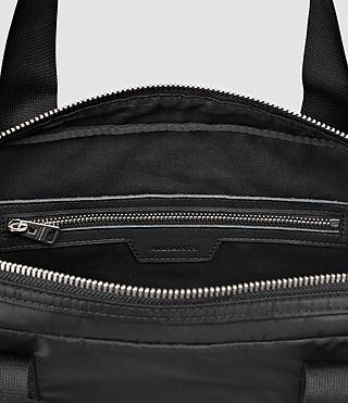 Hombres Chamber Work Bag (Jet Black) - product_image_alt_text_6