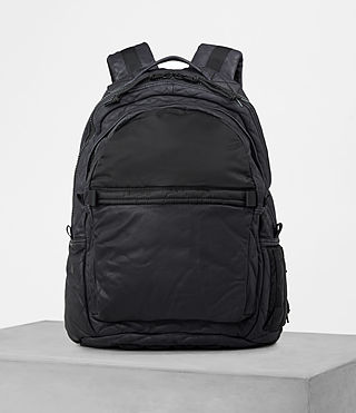Mens Shoto Rucksack (WASHED INK/ BLACK) - product_image_alt_text_1