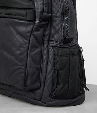 Mens Shoto Rucksack (WASHED INK/ BLACK) - product_image_alt_text_2